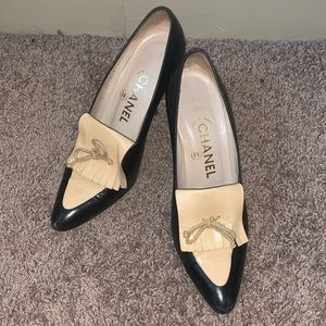 Vintage Chanel Pointy Heels